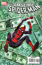 THE AMAZING SPIDER-MAN #580 SIGNED BY ARTIST LEE WEEKS