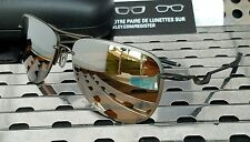 New Oakley 4086-06 TAILPIN Aviator Sunglasses Pewter w/ Tungsten Iridium
