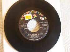 """BRIAN HYLAND-2/1 orig 45's!-""""Let Me Belong To You""""&""""I'll Never Stop Wanting""""-VG+"""