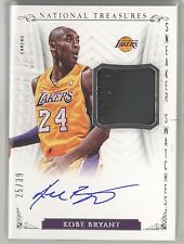 KOBE BRYANT 2013-14 NATIONAL TREASURES SNEAKER SWATCHES SHOE AUTO AUTOGRAPH /39