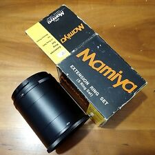 Mamiya Extension Ring 5 set No.1 2 3 4 5 for Universal Press Super 23