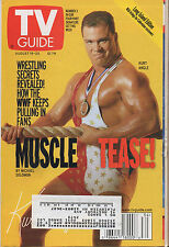2000 TV Guide Rope Opera Muscle Tease August 19-25