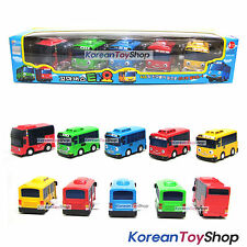 The Little Bus TAYO Bus Wind up 5 pcs Toy Car Set / Tayo Rogi Gani Rani Cito