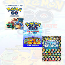 Pokemon Go (The Ultimate Guide) 3 Books Collection Set NEW BRAND Paperback UK