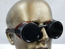 vintage 1950s Aviator Motorcycle Welding Roadster Work Goggles Sunglasses Retro