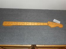 NEW - Replacement Neck For Fender Precision Bass, Vintage Tinted Finish - #PMF