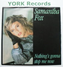 "SAMANTHA FOX - Nothing's Gonna Stop Me Now - Excellent Con 7"" Single Jive FOXY 5"