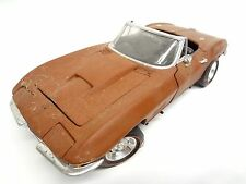 Barn Find 1967 427 Corvette 1:18 diecast parts 435 Tri Power L71 Rat Rod Yard GM