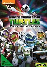 TEENAGE MUTANT NINJA TURTLES: FREMDE WEL   DVD NEU