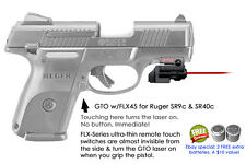 ArmaLaser GTO for Ruger SR9c, SR40c - Red Laser Sight w/ FLX45 Grip Activation