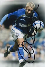 IPSWICH TOWN HAND SIGNED LEE MARTIN 6X4 PHOTO.