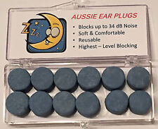 Ear Plugs - Moldable (6 pairs) - Snoring, Motorbike, Travel, Sleep, NRR 34