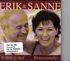 Erik&Sanne-Ik Heb Je Lief cd single