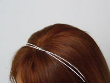 CERCHIETTO SPOSA DIADEMA SWAROVSKI ACCONCIATURA WEDDING HEADBAND SPOSE 9