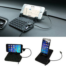New Car Charging Cradle Stand Holder Mount for iPhone Samsung Smart Phone