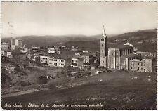 ORTE SCALO - CHIESA DI S.ANTONIO E PANORAMA PARZIALE (VITERBO) 1956