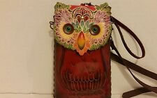 NEW OWL Animal Shape Cross Body Leather Shoulder Bag Pouch Purse Hand Bag