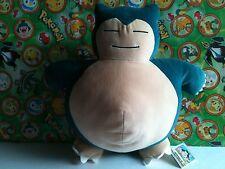 """Pokemon Plush Snorlax 13"""" DX stuffed figure Cushion Pillow Banpresto doll UFO"""