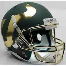 SOUTH FLORIDA BULLS Schutt XP Full-Size REPLICA Football Helmet (MATTE GREEN)