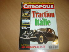 Citropolis N°13 Dalat.Traction en Italie.Type 23