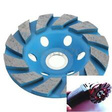 "4"" 100mm 6 Hole Diamond Segment Grinding Concrete Cup Wheel Disc Granite Stone"