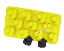Neue Ente-förmige Silikon Eiswürfel Jello Mold Mini Tray