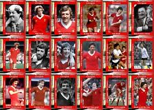 Liverpool 1982 Football League Cup final winners trading cards