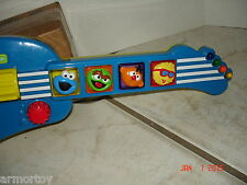 1998 Tyco Sesame Street Elmo's Elmo Rock And Roll Guitar Musical Toy