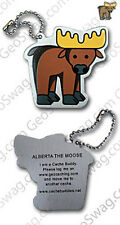 Moose Cache Buddy For Geocaching (Travel Bug Geocoin)