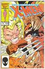 X MEN 213 9.4 SABERTOOTH KITTY PRYDE WOLVERINE STORM COLOSUS NICE GLOSSY BOOK