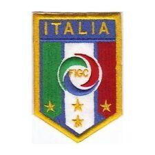 [Patch] FIGC - FEDERAZIONE ITALIANA GIUOCO CALCIO fondo giallo cm 5 x 7,5 -353