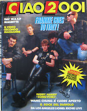 CIAO 2001 5 1987 FGTH Peter Gabriel WASP Wang Chung Lionel Richie DAF Blondie