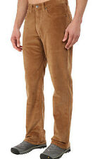 NWT DOCKERS Levis 5 Pocket 36 x 29 Saddle Tan STRAIGHT Corduroy Flat Front Pants