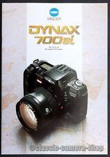 Minolta Prospekt MINOLTA DYNAX 700si & Objektive Kamera Broschüre Reklame (X2597