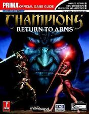 Champions: Return to Arms (Prima Official Game Guide) by Pham, Tri