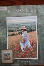 Heritage Stitchcraft Counted Cross Stitch Chart - Poppy Girl -