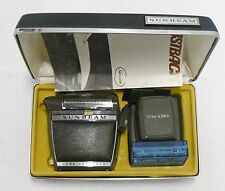 SUNBEAM FASTBACK CORD/CORDLESS ELECTRIC SHAVER IN ORIGINAL CASE