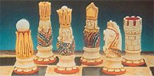 9 x SUPERCAST 0012 VICTORIAN CHESS SET REUSABLE LATEX MOULDS / MOLDS