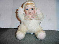 GEPPEDDO CUDDLE KIDS ANGELLE ANGEL 2002 COLLECTIBLE in need of some TLC