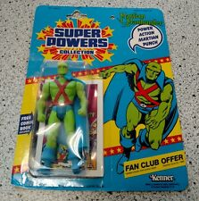 SUPER POWERS MARTIAN MANHUNTER VINTAGE KENNER 1985  NEW ON CARD