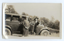Two Ladies with a Better Than Average Car Photo 1920s