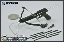 "ZYTOYS Weapon Model 1/6 Black 10cm CrossBow Arrow Set F 12"" Figure In Stock"
