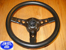 Ford Capri Steering Wheel Kit Three-Spoke RS Rally Sport Racing Black Or Chrome