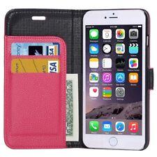 Apple iPhone 6 Plus 5.5 - Housse Etui à Clapet Folio Flip Cover - Rose