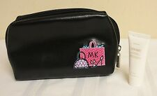 Mary Kay Black Embroidered Cosmetic Bag with Satin Hands Hand Cream 4 oz.