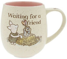 DISNEY PARKS AUTHENTIC 16 oz COFFEE MUG CUP PIGLET WINNIE THE POOH CLASSIC NEW