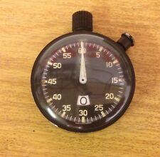 Heuer Military Stopwatch Race Rally Sports Timer Timepiece