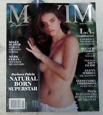 MAXIM December 2016 January 2017 Sexy BARBARA PALVIN Mark Cuban KELLY SLATER New