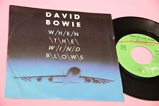 "DAVID BOWIE 7"" WHEN THE WIND BLOWS ORIG ITALY 1986 NM !!!!!!!!!!!!!!!!!!!!!!!!!!"