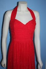 Laundry by Shelli Segal Metallic Dress Strapless or Halter Size 12